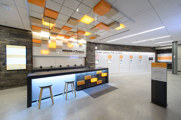 Amazon Opens First Staffed College Campus Store